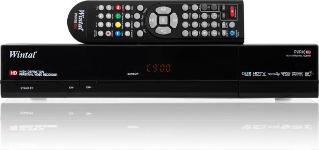Wintal TWIN TUNER High Definition HD PVR 500Gb HDD Model: PVR10HD